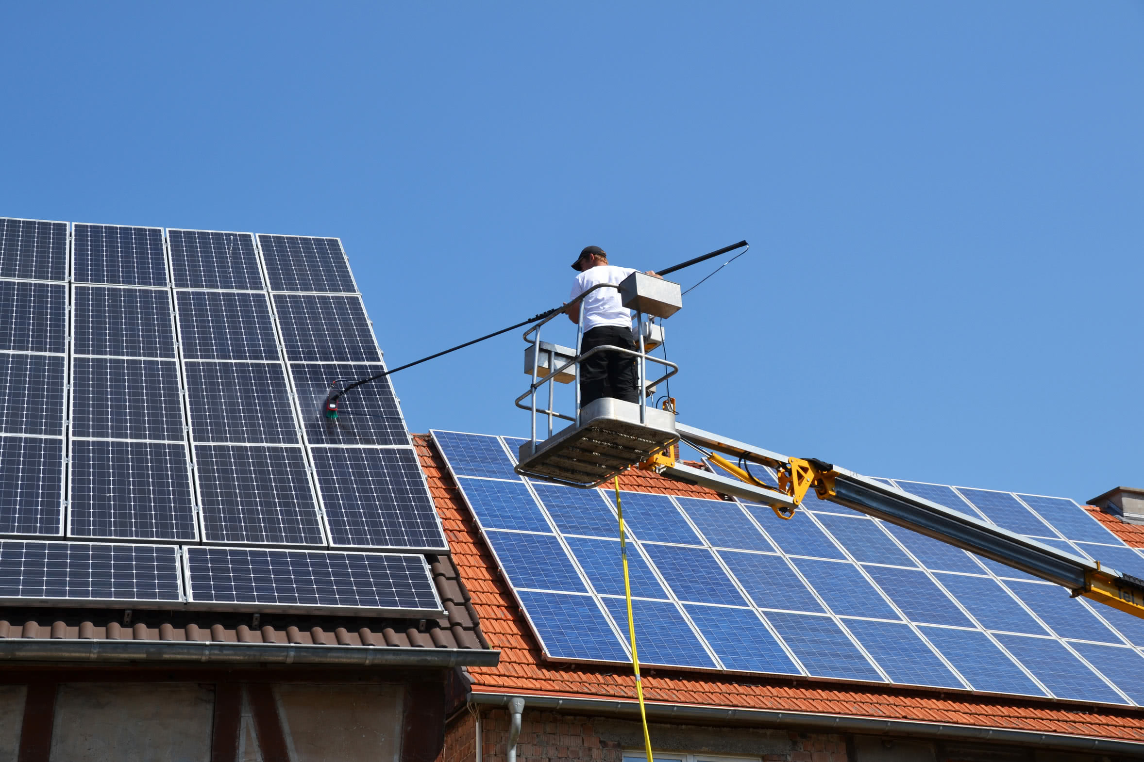 Industrial Cleaning Solar Cell Cleaning