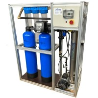 Crystal Pro Plug&Play reverse osmosis plant with softening plant