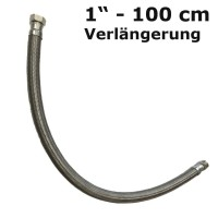 Flexible hose extension 1'' (100 cm)