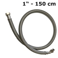 Reinforced hose / flexible hose 1'' (150 cm) for drinking water