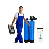 Installation flat rate Duplex water softening plant up to capacity 500