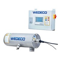 WEDECO Spektron UV disinfection plant with DVGW